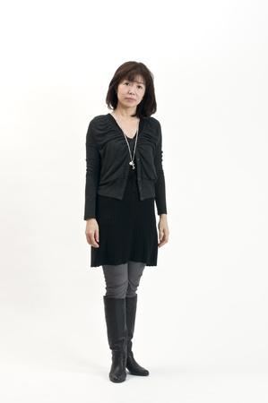 日本人女性の秋のファッション