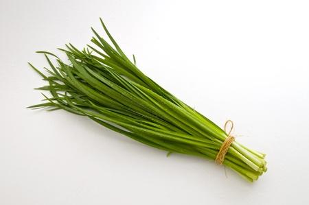 green onions Stock Photo