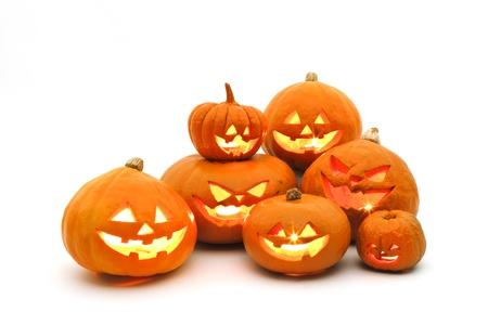 jack o lantern: halloween Stock Photo