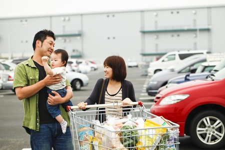 shopping Reklamní fotografie