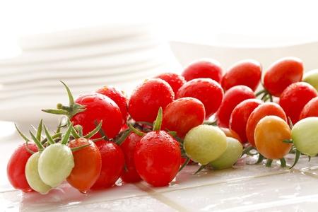 steins: cherry tomatoes