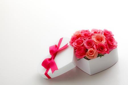 Heart of roses Stock Photo - 12693854