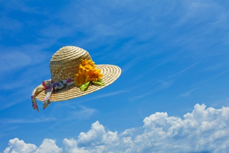 straw hat Stock Photo - 12694573