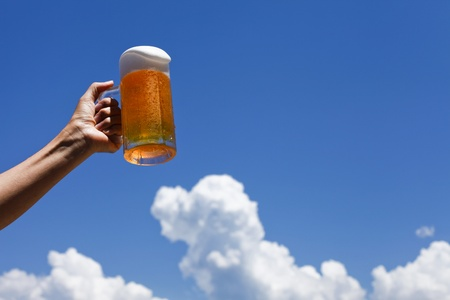Draft beer, photo