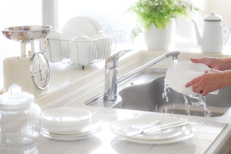 wash the dishes: Cocina