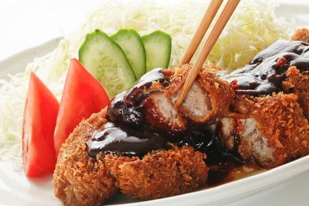 cutlet: Pork cutlet Stock Photo