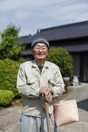 Japanese grandpa photo