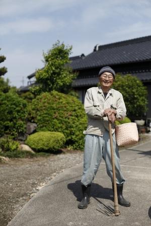 Japanese grandpa Stock Photo - 18068522