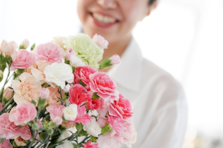 어머니의 날 꽃다발
