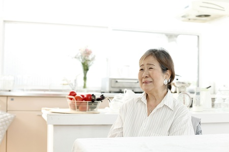 Japanese granny Stock Photo - 18192633