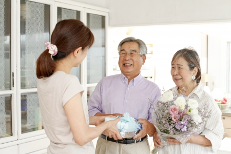 황금 결혼 축하 스톡 콘텐츠