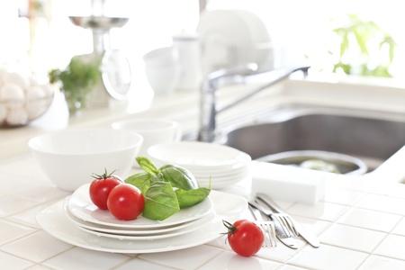 Kitchen, sink, dish photo