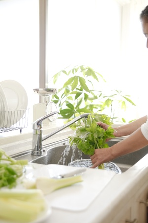 every: Wash the vegetables