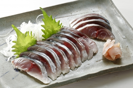 mackerel: Mackerel vinegar Stock Photo