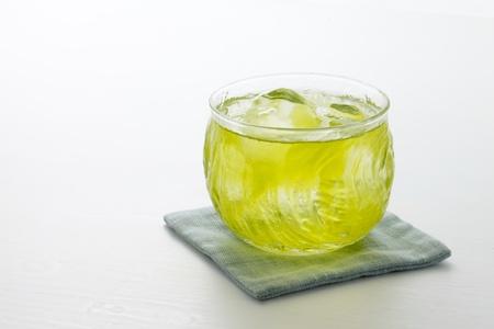 冷緑茶 写真素材
