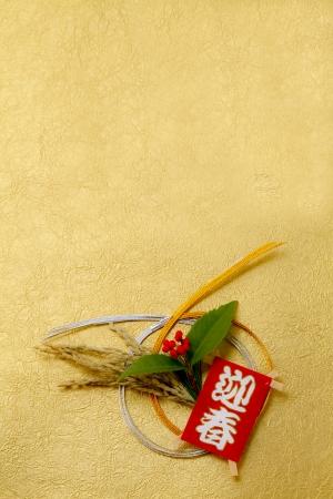 Japanese New Year decoration Stock Photo - 18327340