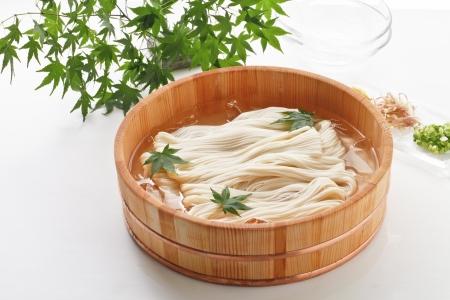 Fine white noodles 写真素材
