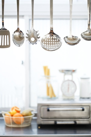 kitchen tool: Ladle in the kitchen