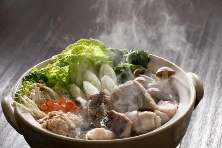 Seafood pot
