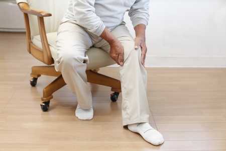 on hands and knees: Joint pain