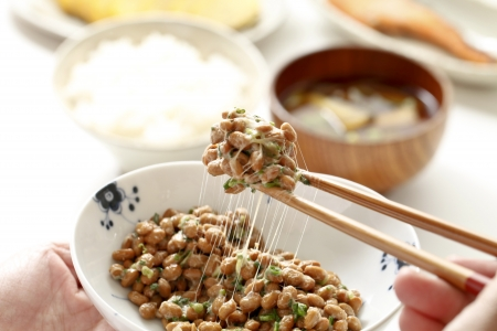 Japanese fermented food natto