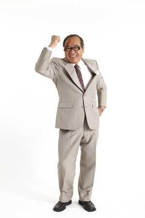 senior asian: Asian Executive Stock Photo