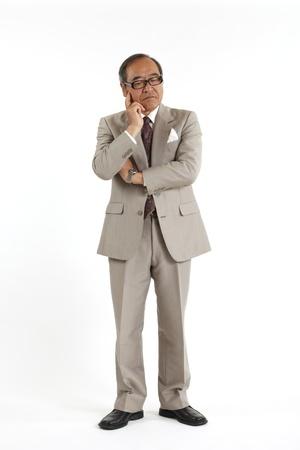 Asian Executive Stock Photo