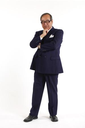 senior asian: Management of Asia Stock Photo
