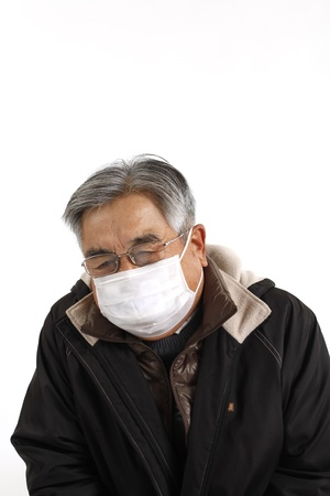 was: Old man was masked by disease