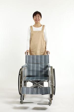 the elderly caregivers: Asian nurse care