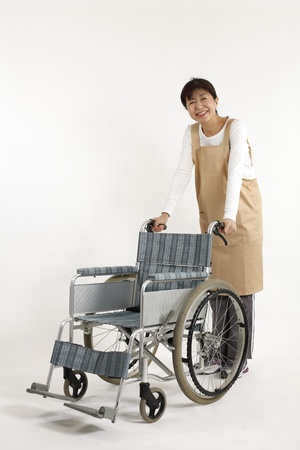 mobility nursing: Asian nurse care