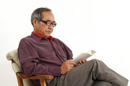 Senior to reading photo