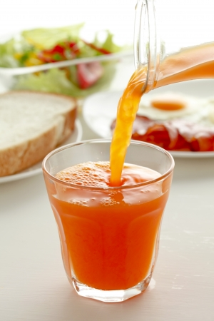 Carrot juice Stock Photo - 18558258