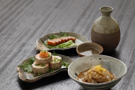 japon food: Sake et assaisonnements
