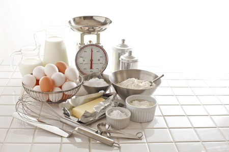 Preparation of pastry making Stock Photo - 18621626