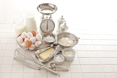 Preparation of pastry making Stock Photo - 18621637