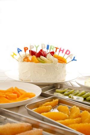 Birthday cake Stock Photo - 18621609