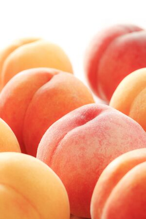 High-quality fruit, peaches from Japan 写真素材