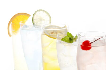 Cold drinks, alcoholic beverages