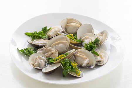 Japanese and clam dishes