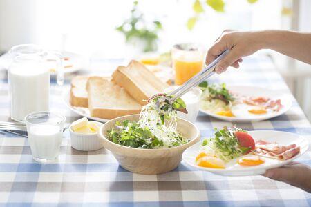 Breakfast images Standard-Bild