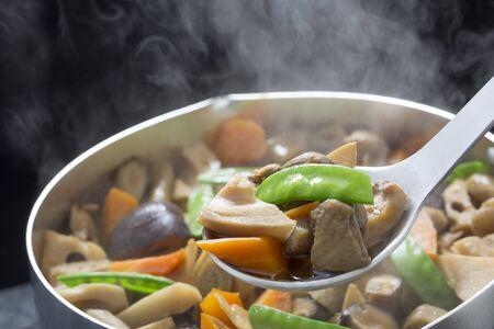 Japanese cuisine, Chikuzen-ni 写真素材