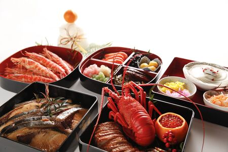 Japanese New Year's food, image