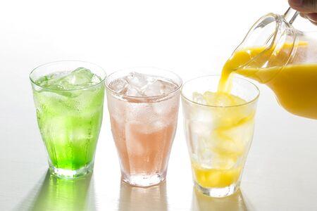 Cold drinks Archivio Fotografico