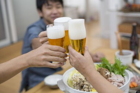 drink beer at home