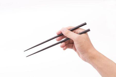 Cómo sostener y usar los palillos