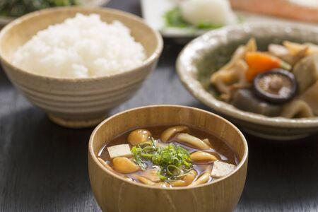 Japanese Breakfast, Miso Soup
