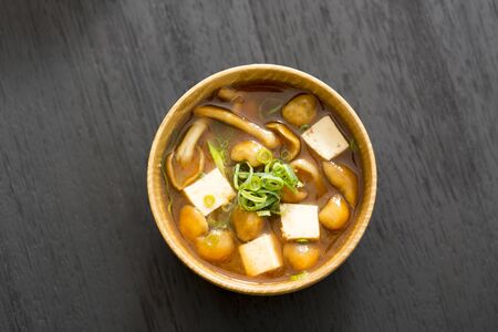 Japanese meal, miso soup