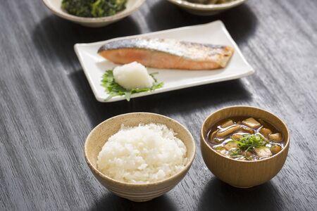 Japanisches Frühstück Standard-Bild