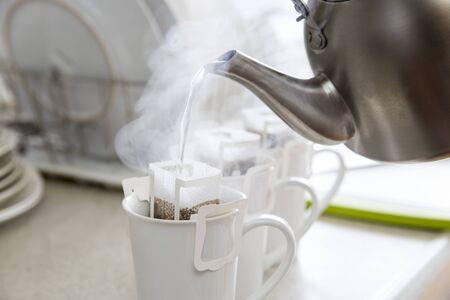 Para hacer cafe Foto de archivo